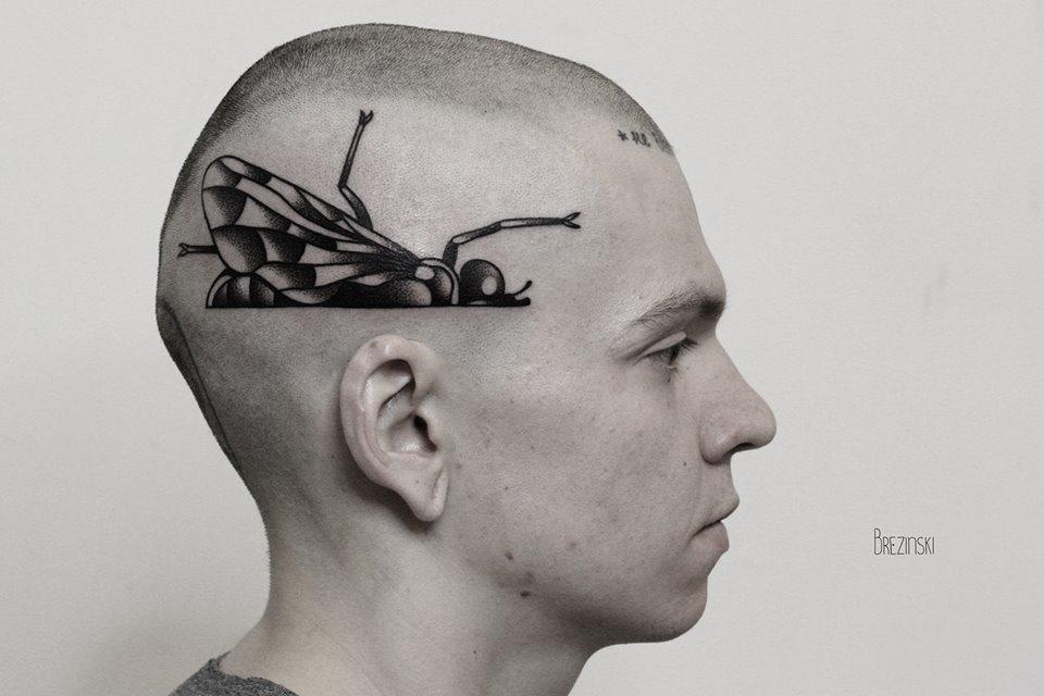 blackwork татуировки