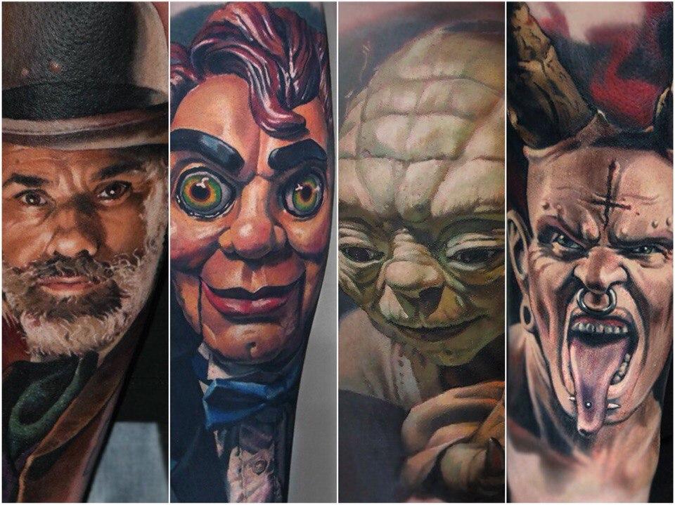 tatboo art 16 foto tattoo татуировки
