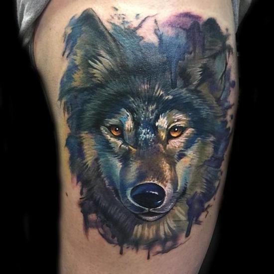 wolf tattoo 14 foto tattoo татуировки