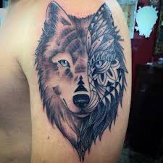 wolf tattoo 15 foto tattoo татуировки