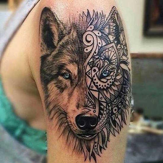wolf tattoo 19 foto tattoo татуировки