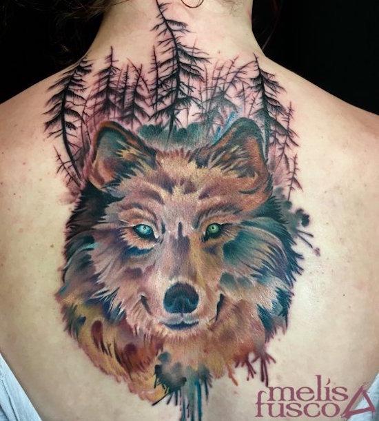 wolf tattoo 22 foto tattoo татуировки
