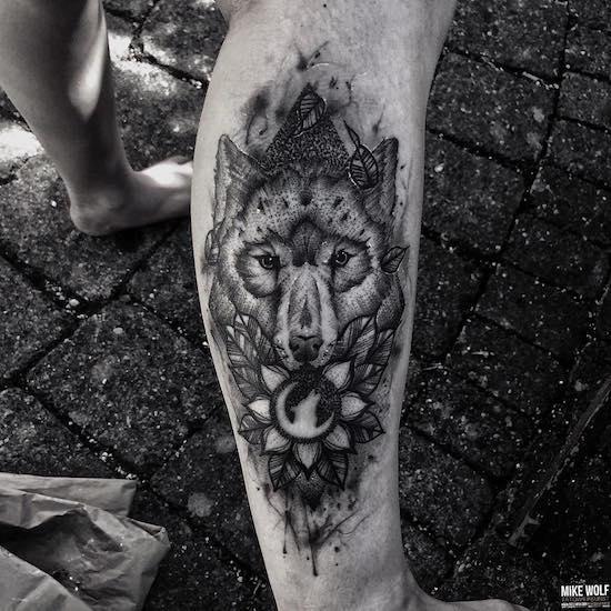 wolf tattoo 23 foto tattoo татуировки