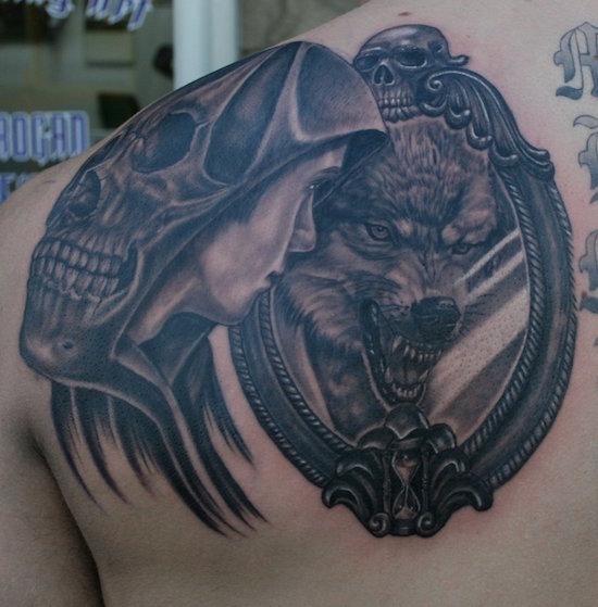 wolf tattoo 27 foto tattoo татуировки