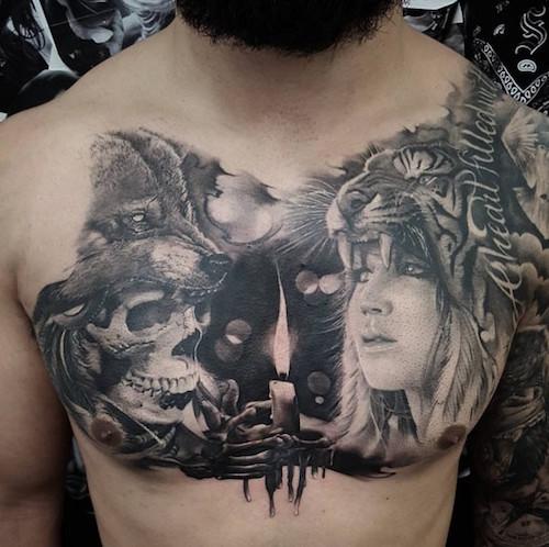 wolf tattoo 53 foto tattoo татуировки