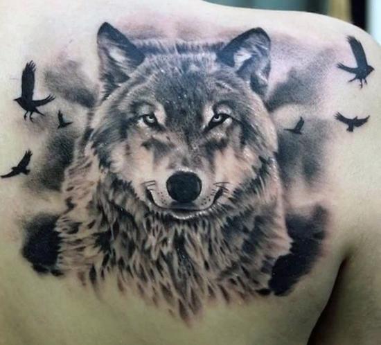 wolf tattoo 9 foto tattoo татуировки