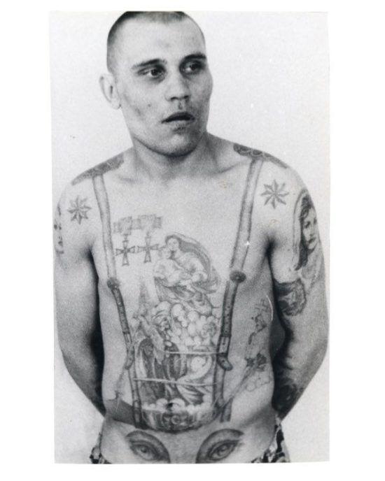 Russian Criminal Tattoo 13 550x688 1 foto tattoo татуировки