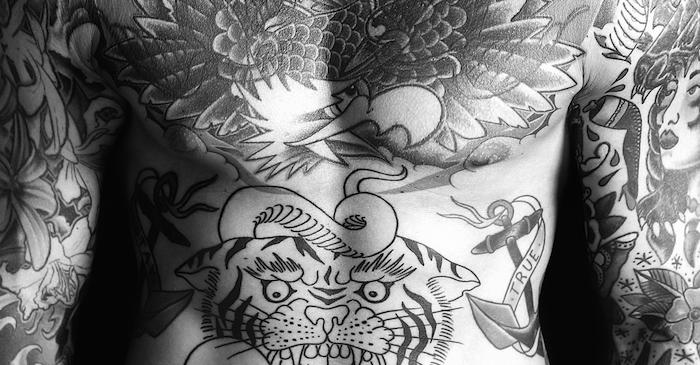 tatu na boku 1 foto tattoo татуировки