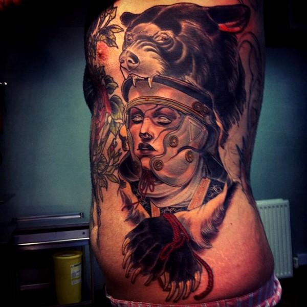 tatu na boku 27 foto tattoo татуировки