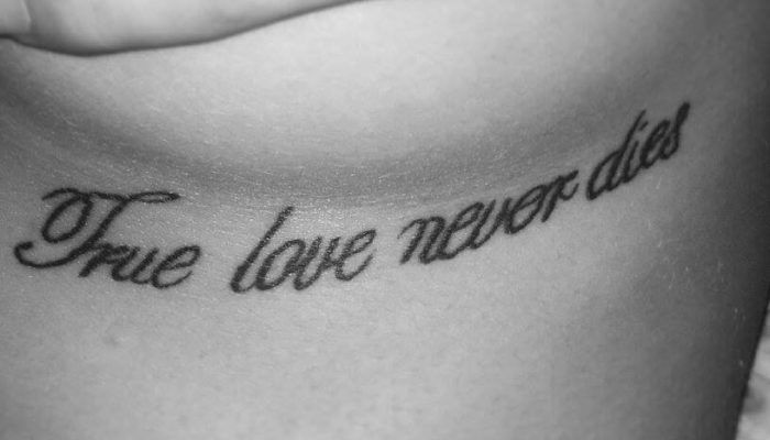 Love never dies foto tattoo татуировки
