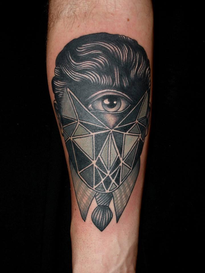 glitch tattoo 11 foto tattoo татуировки