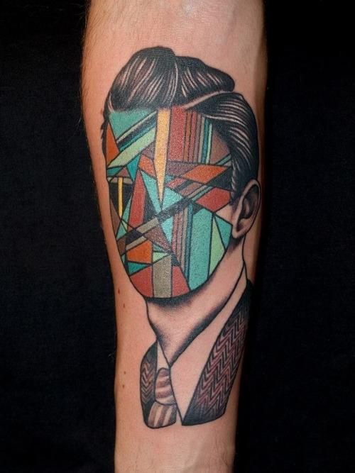 glitch tattoo 12 foto tattoo татуировки