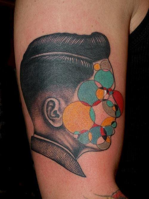 glitch tattoo 16 foto tattoo татуировки