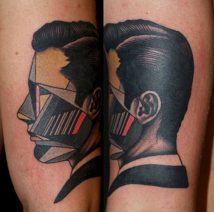 glitch tattoo 17 foto tattoo татуировки