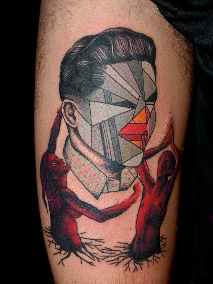 glitch tattoo 25 foto tattoo татуировки