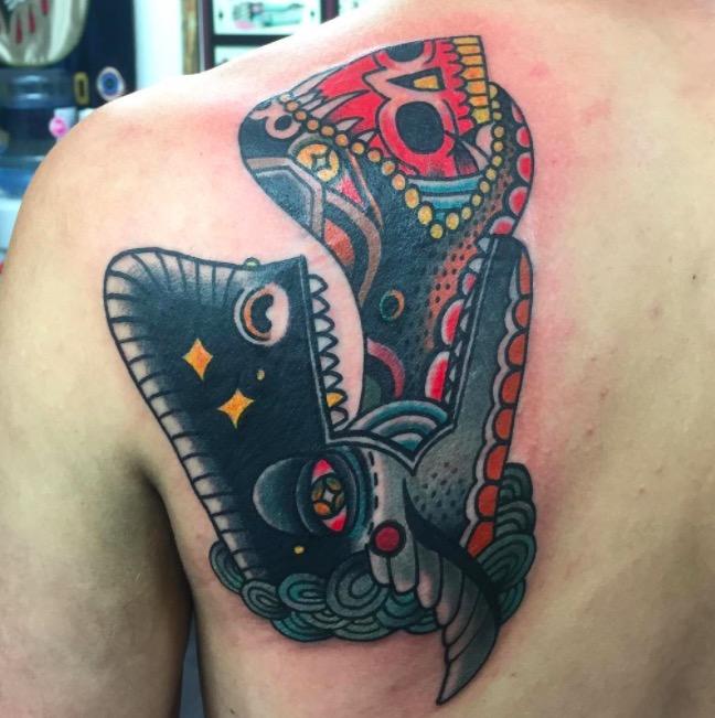 Old school Deno onTattoo 19 foto tattoo татуировки
