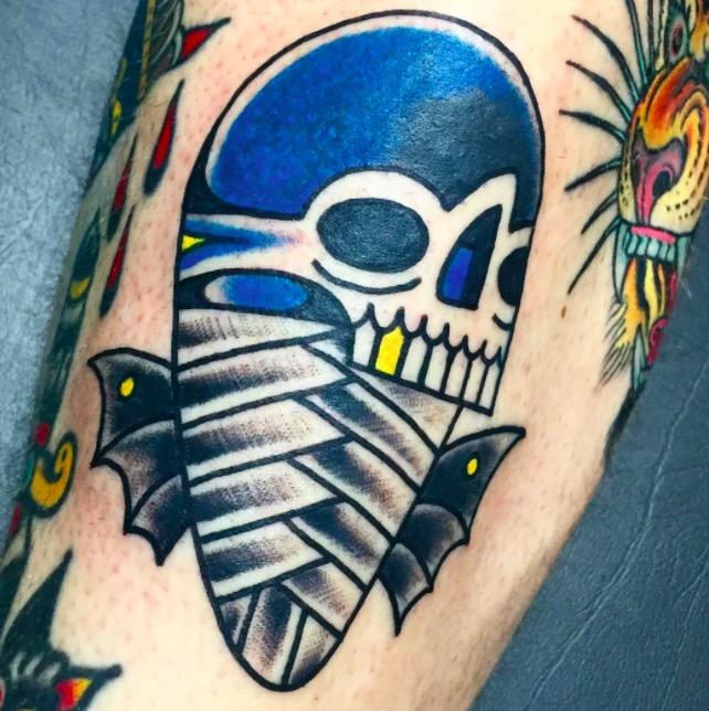 Old school Deno onTattoo 21 foto tattoo татуировки