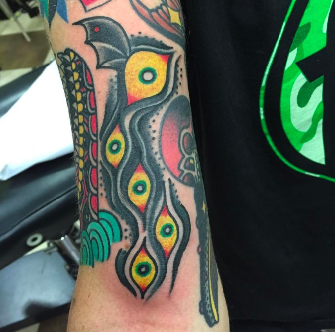 Old school Deno onTattoo 28 foto tattoo татуировки