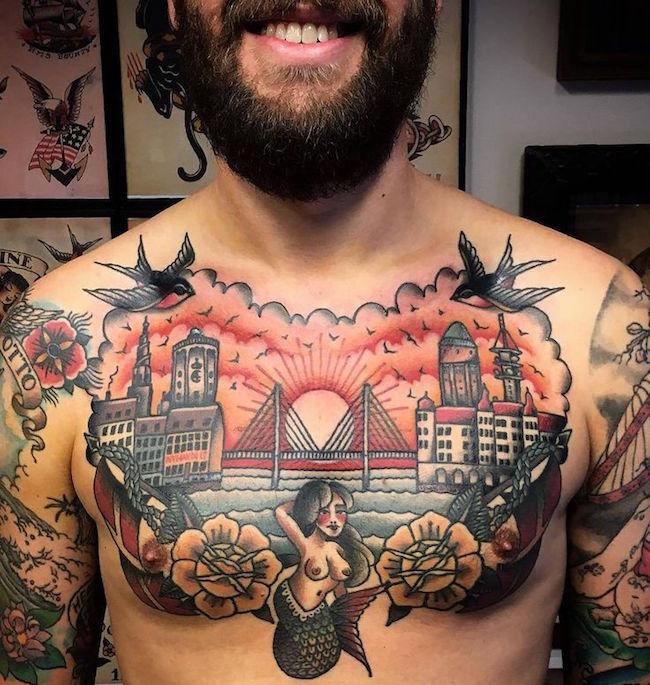 lastochka tatu foto 3 foto tattoo татуировки