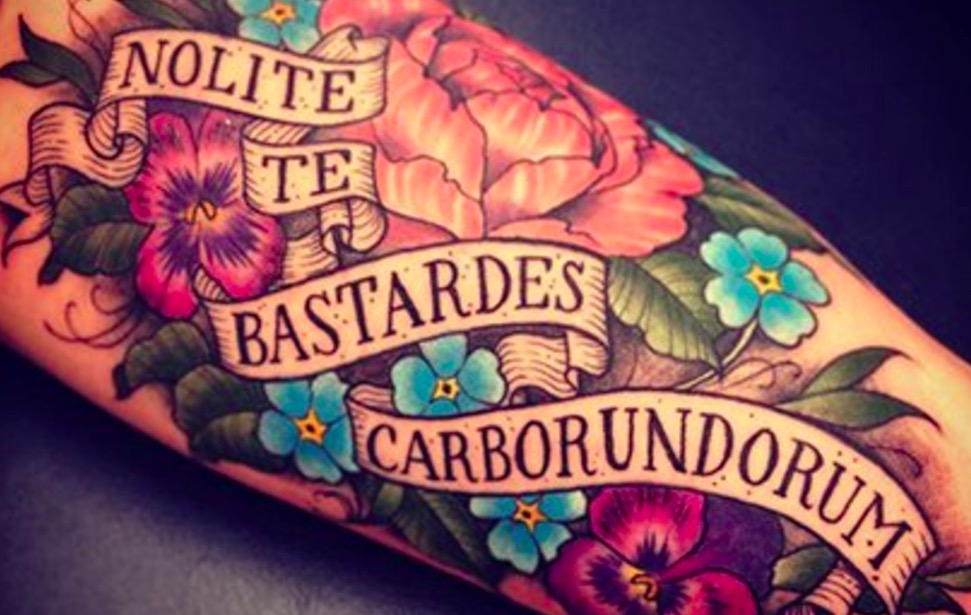 Latin Tattoos foto tattoo татуировки