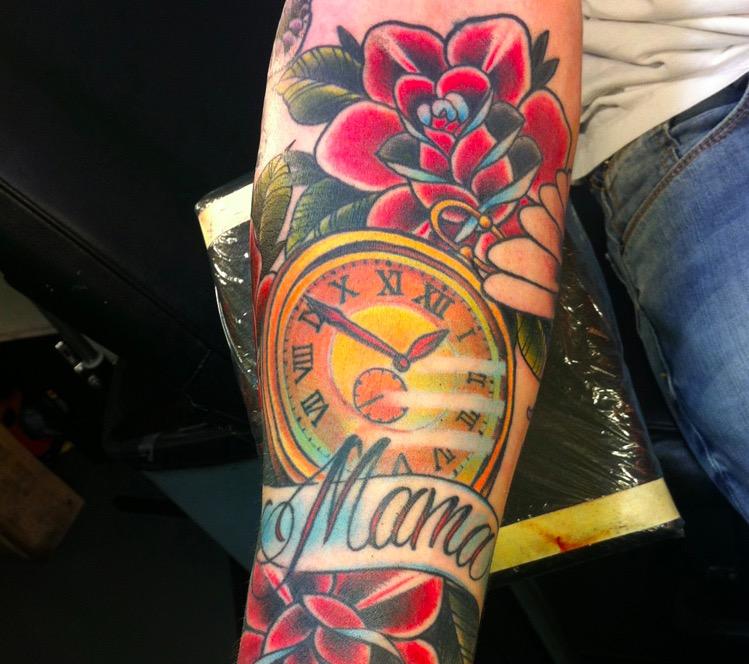 mama tattoo flower 1 foto tattoo татуировки