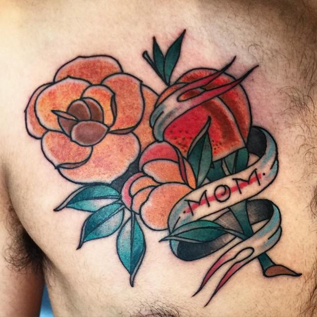 mama tattoo flower 5 foto tattoo татуировки
