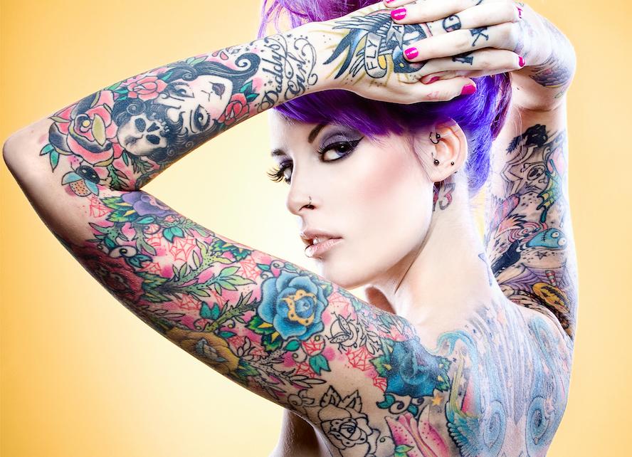 ontattoo girl foto tattoo татуировки