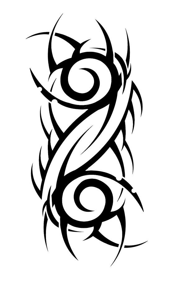 sketch tattoo tribal 1 foto tattoo татуировки