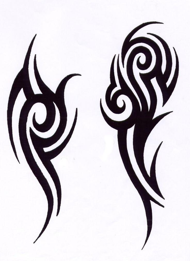 sketch tattoo tribal 13 foto tattoo татуировки