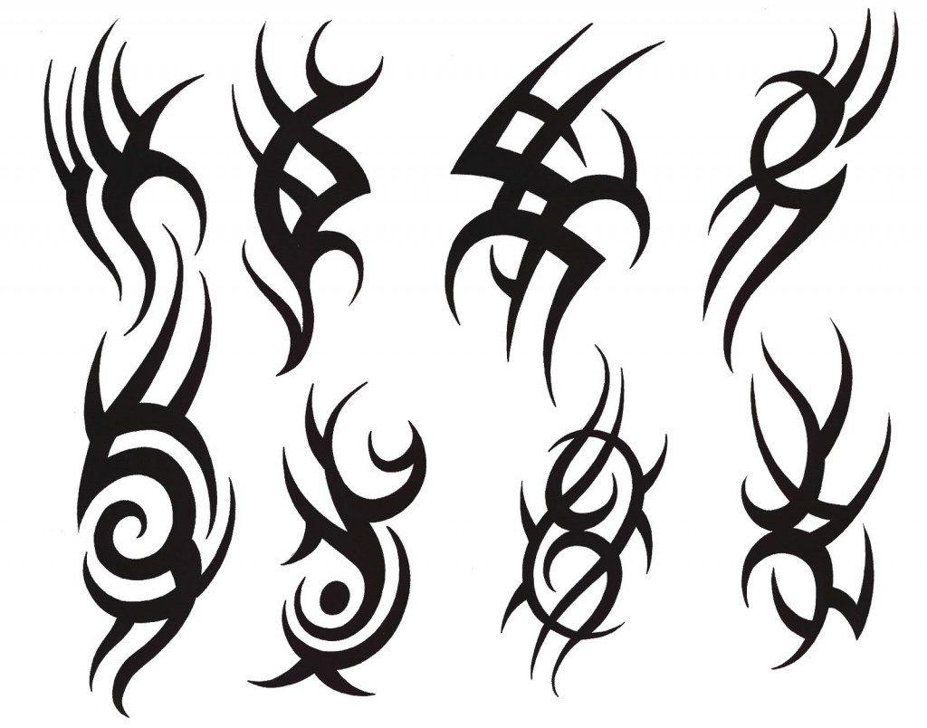 sketch tattoo tribal 14 foto tattoo татуировки