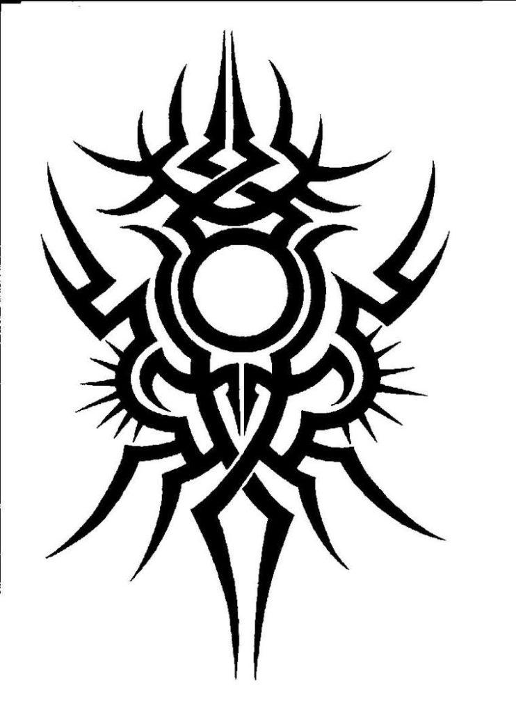 sketch tattoo tribal 2 foto tattoo татуировки