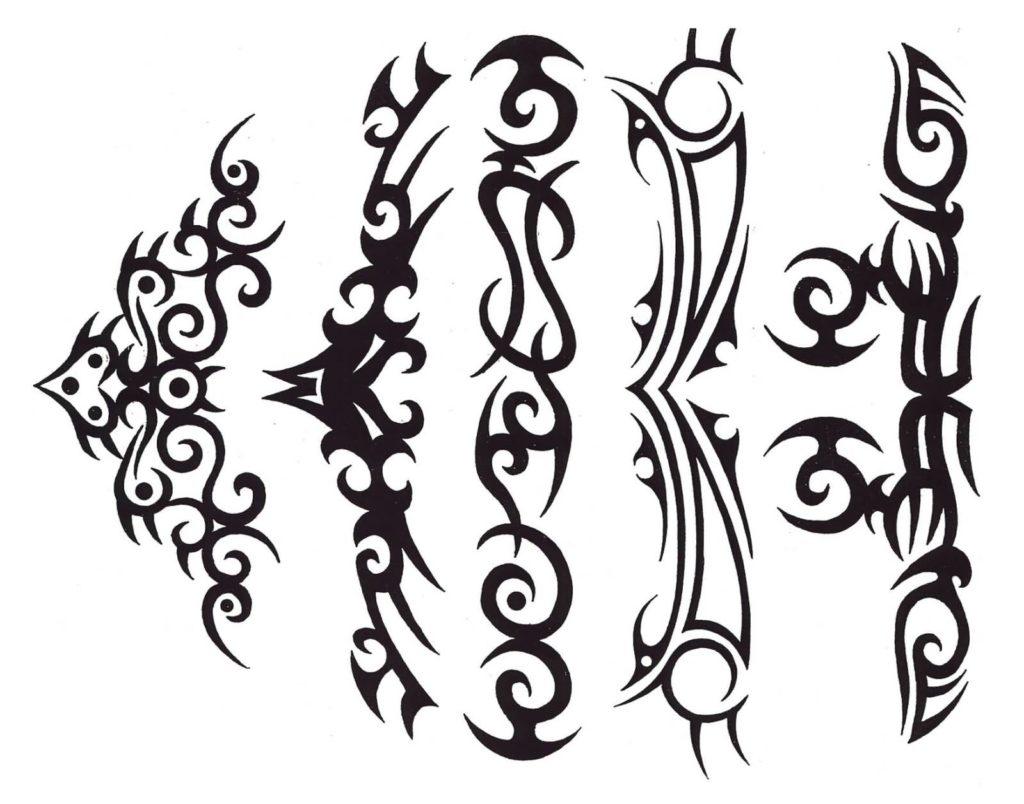 sketch tattoo tribal 4 foto tattoo татуировки