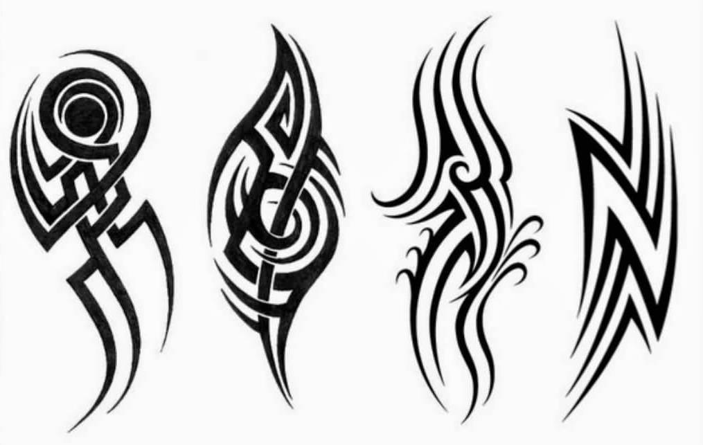 sketch tattoo tribal 5 foto tattoo татуировки