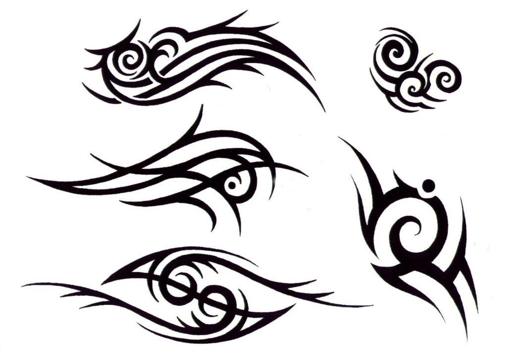 sketch tattoo tribal 6 foto tattoo татуировки