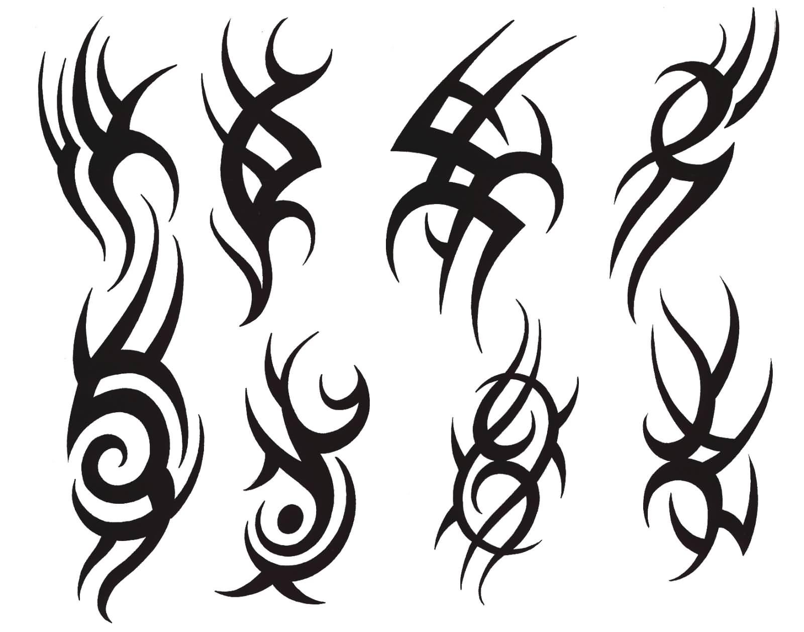 sketch tattoo tribal 8 foto tattoo татуировки