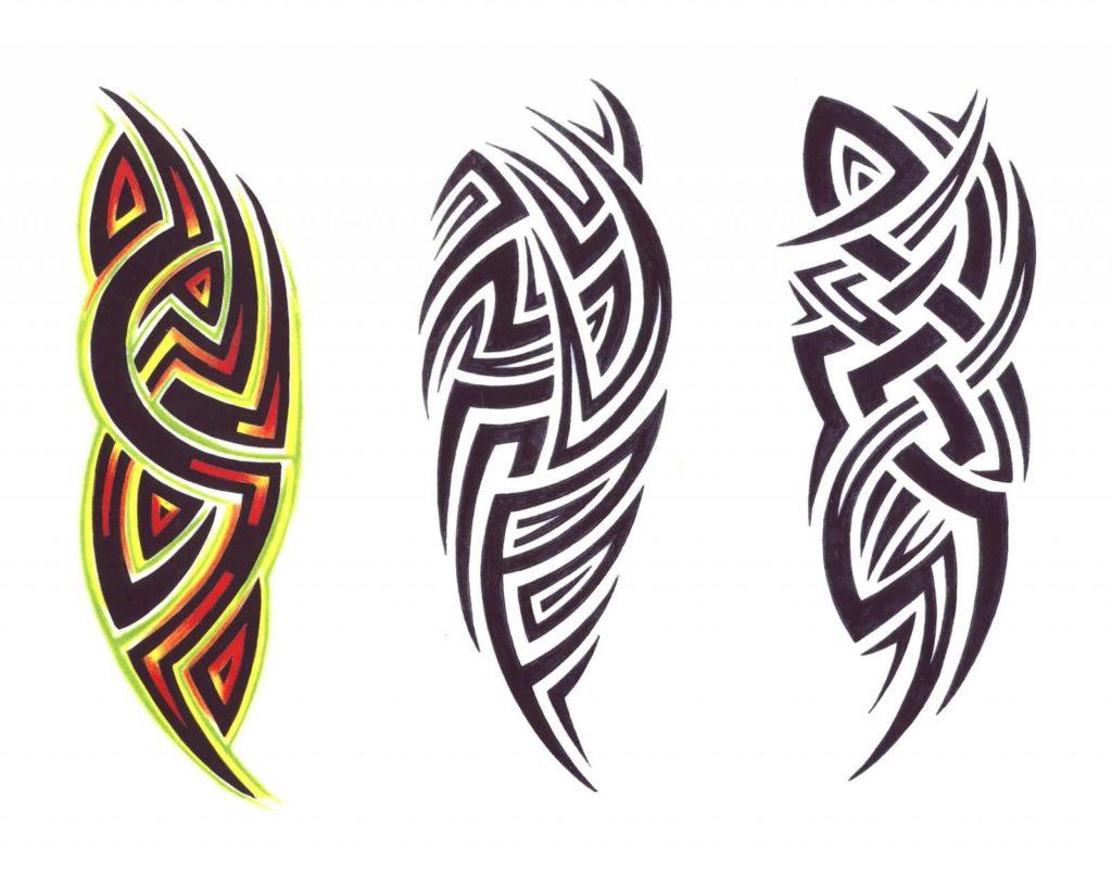 sketch tattoo tribal 9 foto tattoo татуировки