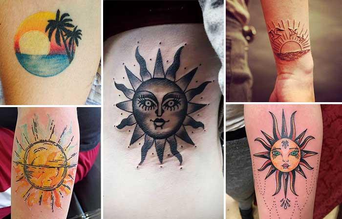 татуировки солнце