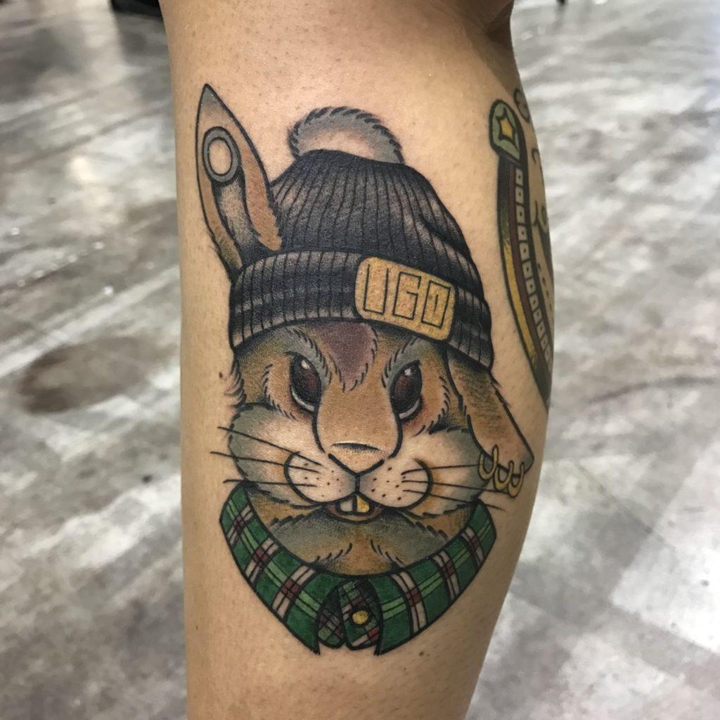 rabbit tattoo 13 foto tattoo татуировки