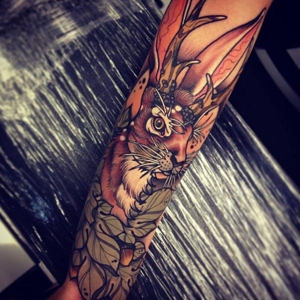 rabbit tattoo 17 foto tattoo татуировки