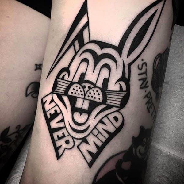 rabbit tattoo 20 foto tattoo татуировки