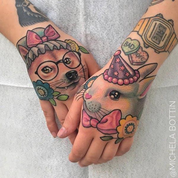 rabbit tattoo 22 foto tattoo татуировки