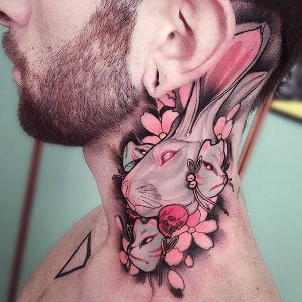 rabbit tattoo 23 foto tattoo татуировки