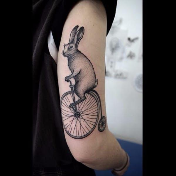 rabbit tattoo 26 foto tattoo татуировки