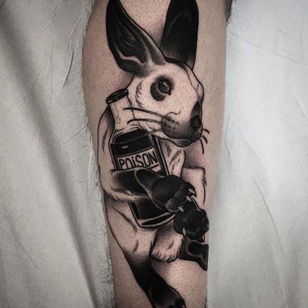 rabbit tattoo 32 foto tattoo татуировки