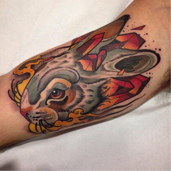 rabbit tattoo 38 foto tattoo татуировки