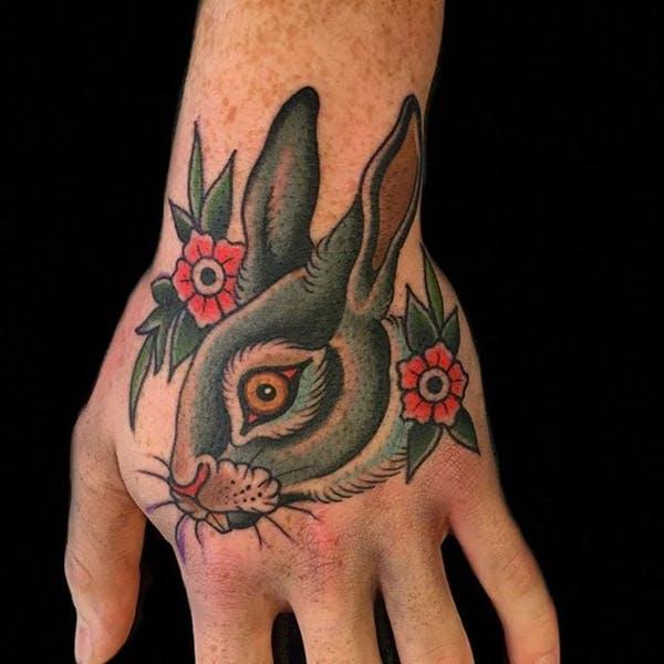 rabbit tattoo 40 foto tattoo татуировки
