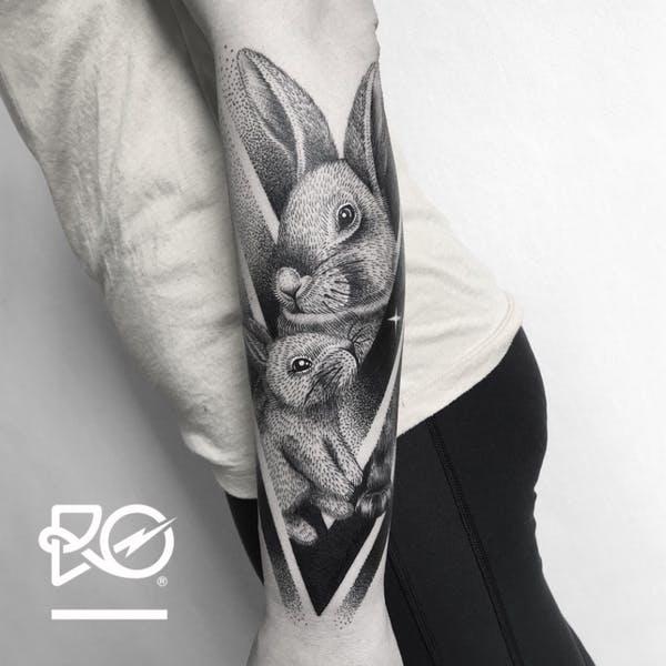 rabbit tattoo 42 foto tattoo татуировки