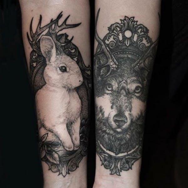rabbit tattoo 43 foto tattoo татуировки