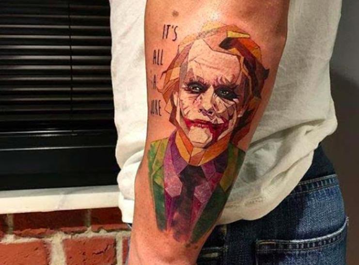 dzhoker tatu na ruke foto tattoo татуировки