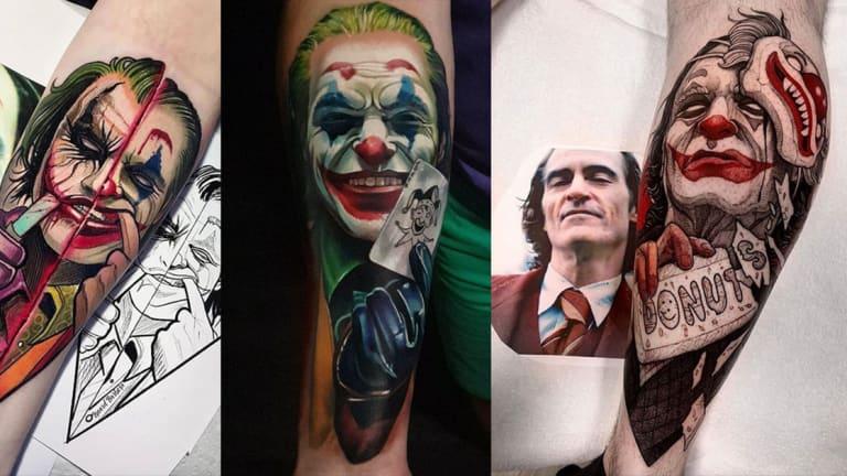 joaquin joker fb foto tattoo татуировки